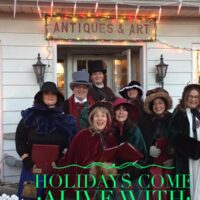 Dickens Carolers 2018 Poster Graphic