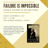 Failure is Impossible 2017 Poster