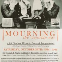 Mourning the Victorian Way Poster