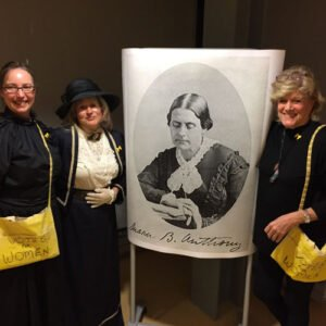 Photo of Centennial Celebration of Women's Suffrage and Susan B. Anthony