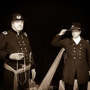 Production Photo from The Red Badge of Courage