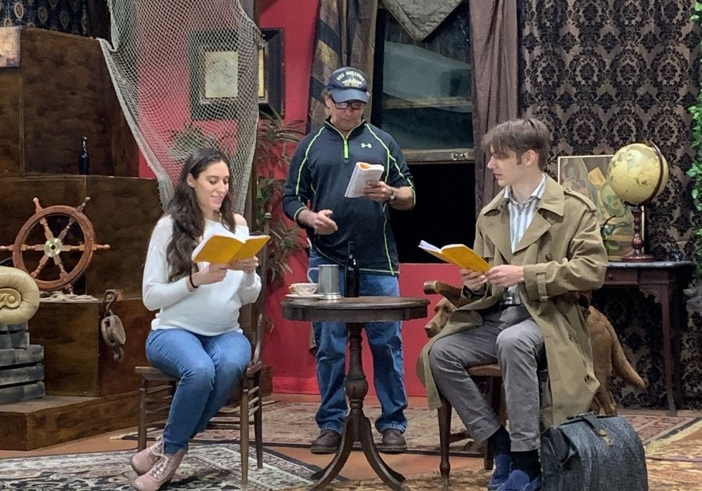 Sherlock's Secret Life Rehearsal