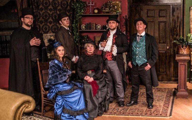 Sherlock's Secret Life MainStage Production Presented at Southampton Cultural Center