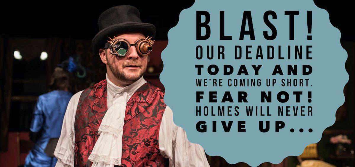 Fundraising for Sherlock's Secret Life at Southampton Cultural Center