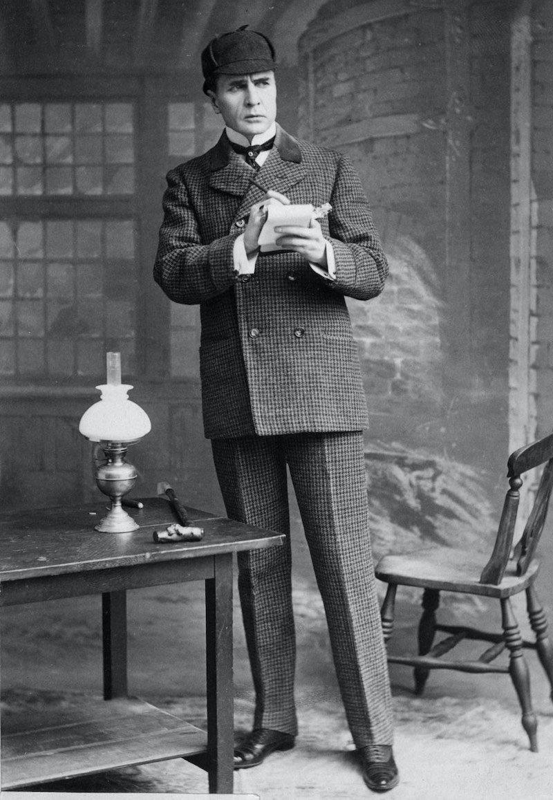 Actor Portrayal of Sherlock Holmes