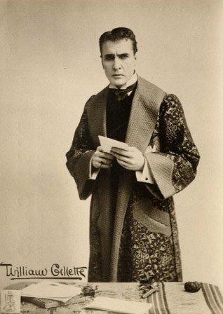 Actor William Gillette
