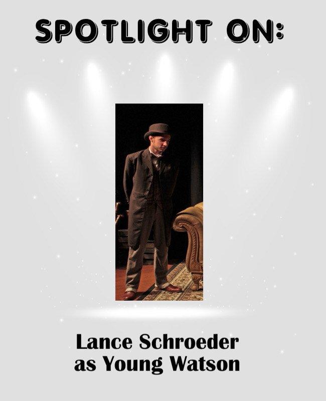 Lance Schroeder as Young Watson in Sherlock's Secret Life