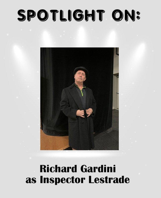 Richard Gardini as Inspector Lestrade